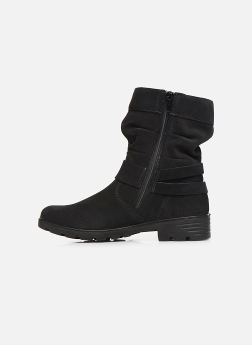 Stiefel Ricosta Ricarda-tex schwarz ansicht von vorne