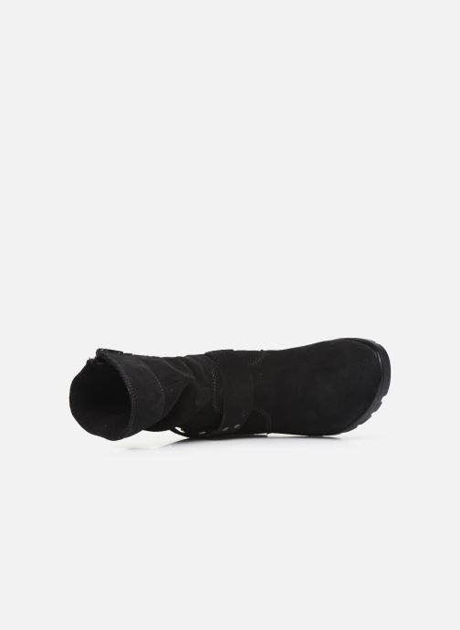 Stiefel Ricosta Ricarda-tex schwarz ansicht von links