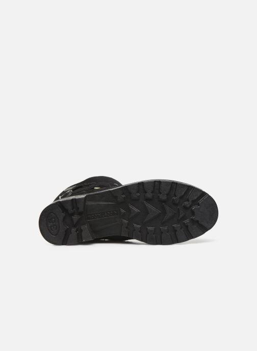 Stiefel Ricosta Ricarda-tex schwarz ansicht von oben