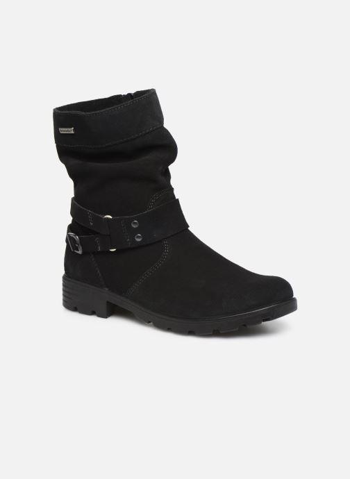 Støvler & gummistøvler Ricosta Ricarda-tex Sort detaljeret billede af skoene