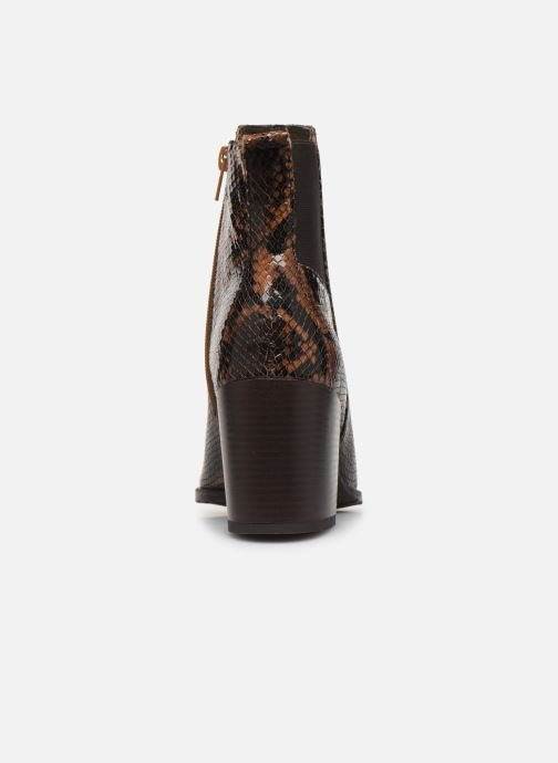 Bottines et boots Georgia Rose Apitona Marron vue droite