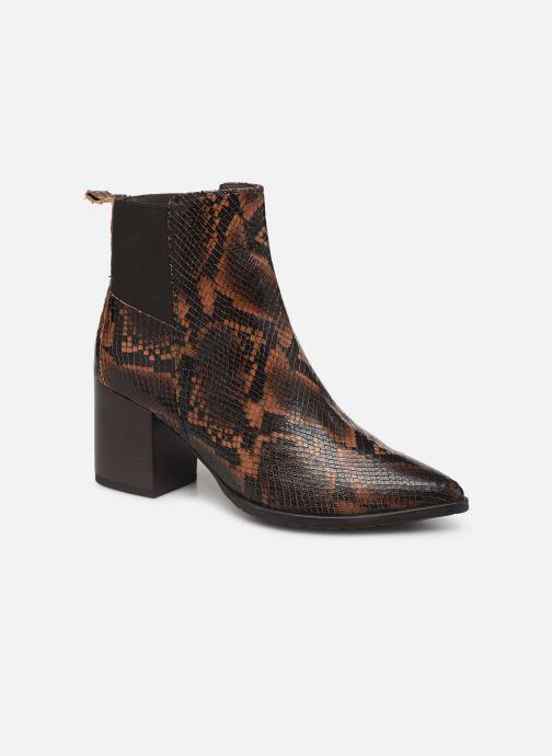 Bottines et boots Georgia Rose Apitona Marron vue détail/paire