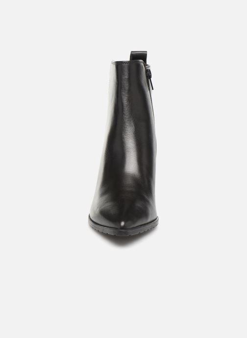 Bottines et boots Georgia Rose Apitona Noir vue portées chaussures