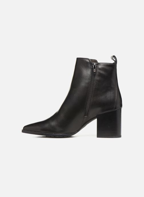 Bottines et boots Georgia Rose Apitona Noir vue face
