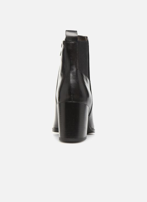 Bottines et boots Georgia Rose Apitona Noir vue droite
