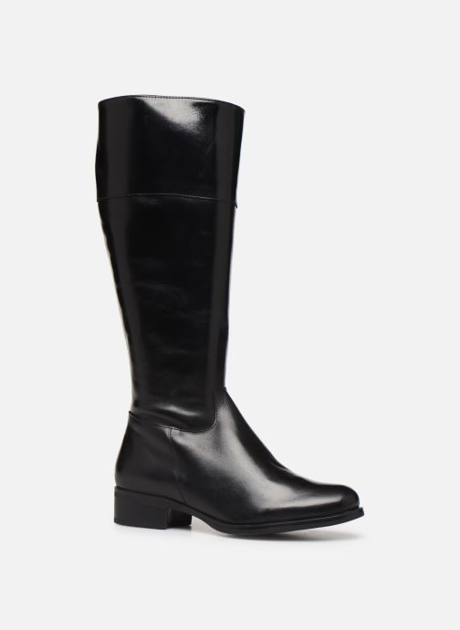 Støvler & gummistøvler Georgia Rose Albava Sort detaljeret billede af skoene