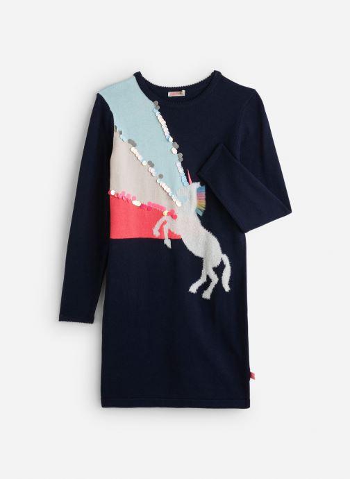 Vêtements Billieblush Robe U12511 Bleu vue détail/paire