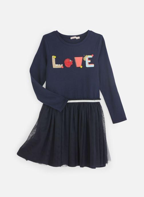 Vêtements Billieblush Robe U12513 Bleu vue détail/paire