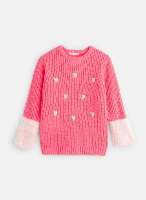 Vêtements Billieblush Pull U12528 Rose vue détail/paire