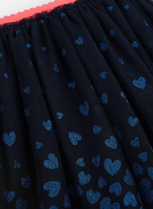 Vêtements Billieblush Jupe U13227 Bleu vue portées chaussures