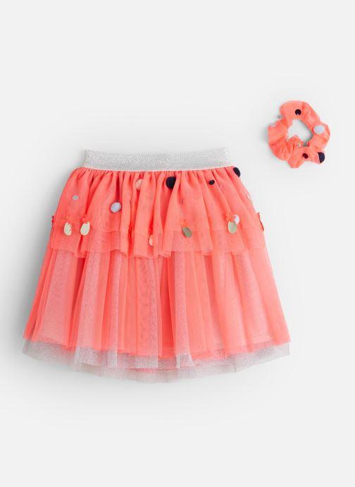 Vêtements Billieblush Jupe U13229 Rose vue bas / vue portée sac