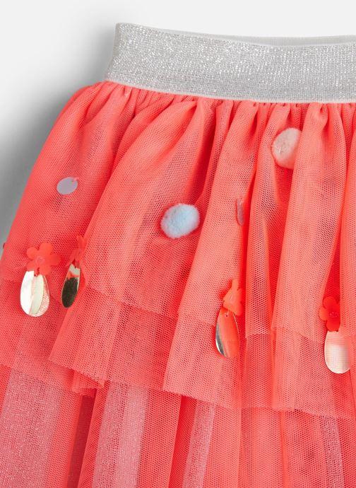 Vêtements Billieblush Jupe U13229 Rose vue portées chaussures