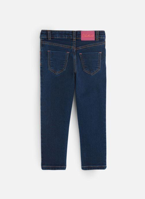 Vêtements Billieblush Jean U14341 Bleu vue bas / vue portée sac