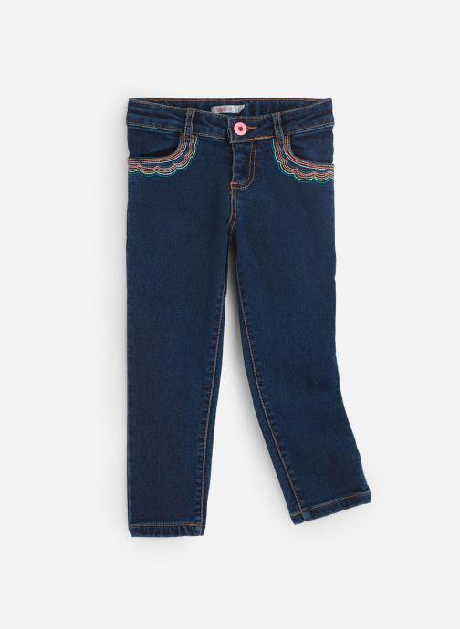 Vêtements Billieblush Jean U14341 Bleu vue détail/paire