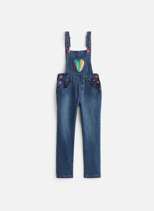 Vêtements Billieblush Salopette U14345 Bleu vue détail/paire