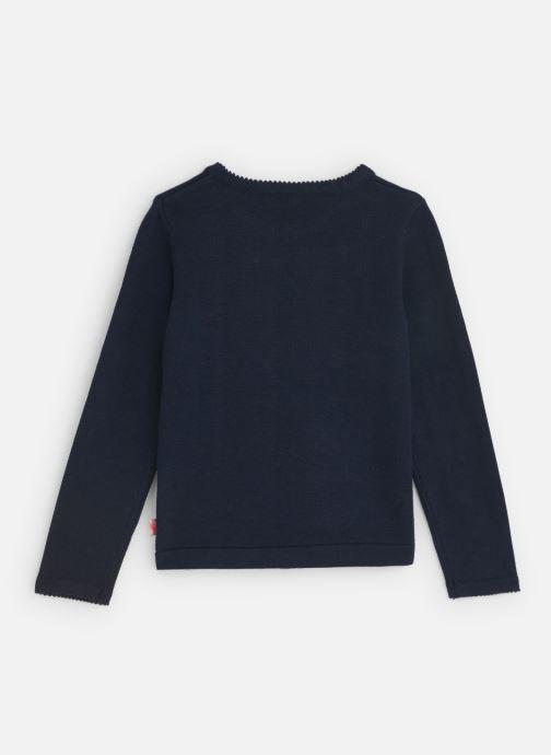 Vêtements Billieblush Pull U15655 Bleu vue bas / vue portée sac
