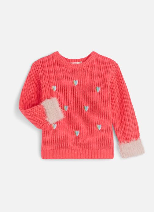 Vêtements Billieblush Pull U15656 Rose vue détail/paire
