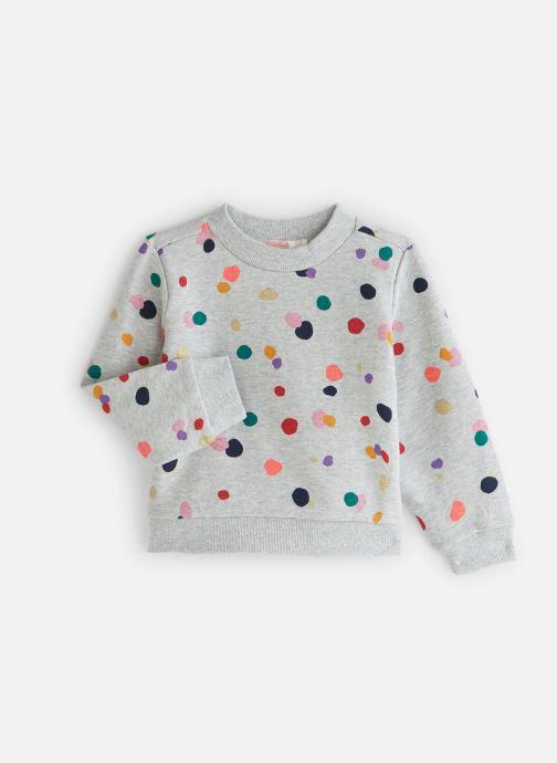 Vêtements Billieblush Sweat U15662 Gris vue détail/paire