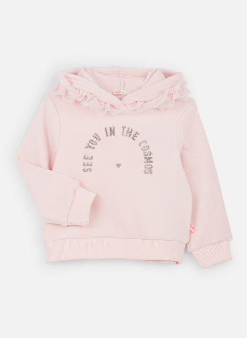 Vêtements Billieblush Sweat U15666 Rose vue détail/paire