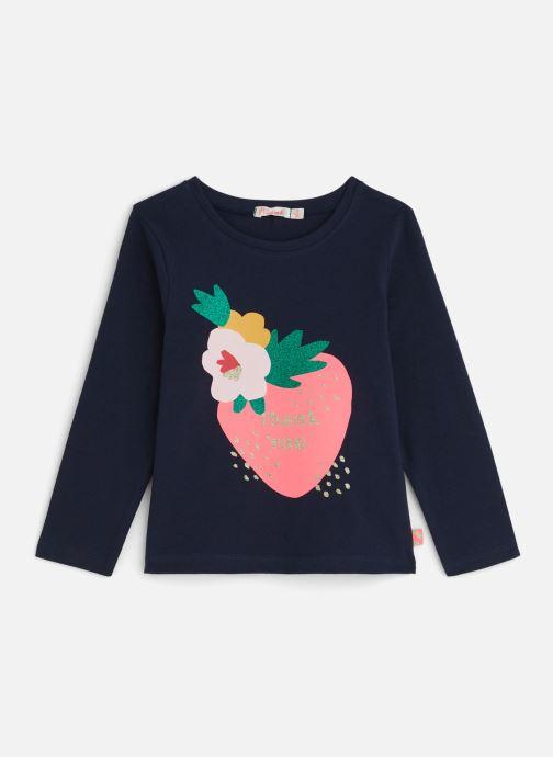 Vêtements Billieblush T-shirt U15668 Bleu vue détail/paire