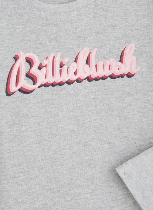 Vêtements Billieblush T-shirt U15677 Gris vue portées chaussures