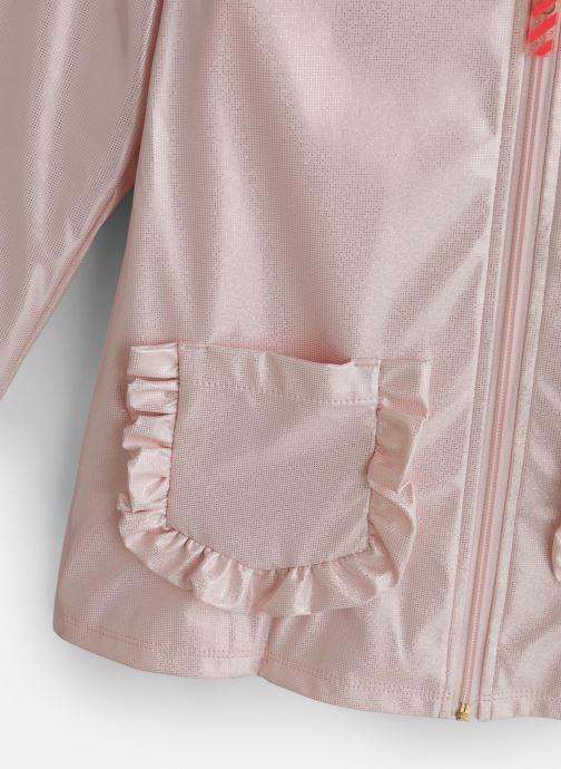 Vêtements Billieblush Imper U16226 Blanc vue portées chaussures