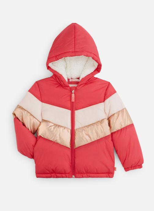 Vêtements Billieblush Doudoune U16230 Rose vue détail/paire