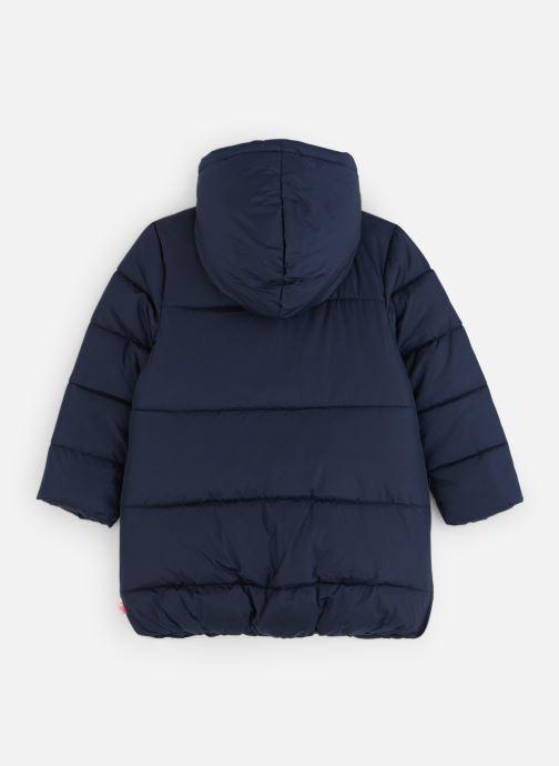 Vêtements Billieblush Doudoune U16232 Bleu vue bas / vue portée sac