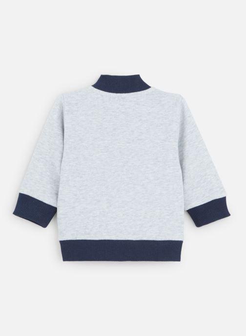 Vêtements Timberland Sweat T05J10 Gris vue bas / vue portée sac
