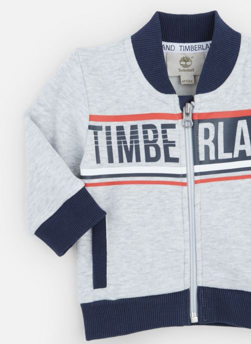 Vêtements Timberland Sweat T05J10 Gris vue portées chaussures