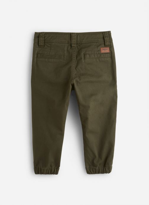 Vêtements Timberland Pantalon T24A71 Vert vue bas / vue portée sac