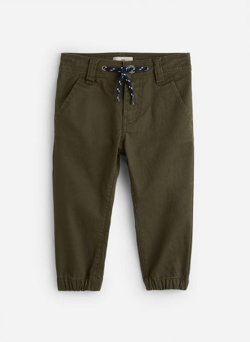 Vêtements Timberland Pantalon T24A71 Vert vue détail/paire