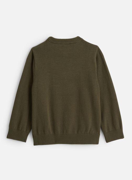 Vêtements Timberland T-shirt T25Q32 Vert vue bas / vue portée sac