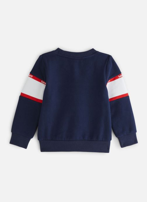 Vêtements Timberland Sweat T25Q38 Bleu vue bas / vue portée sac