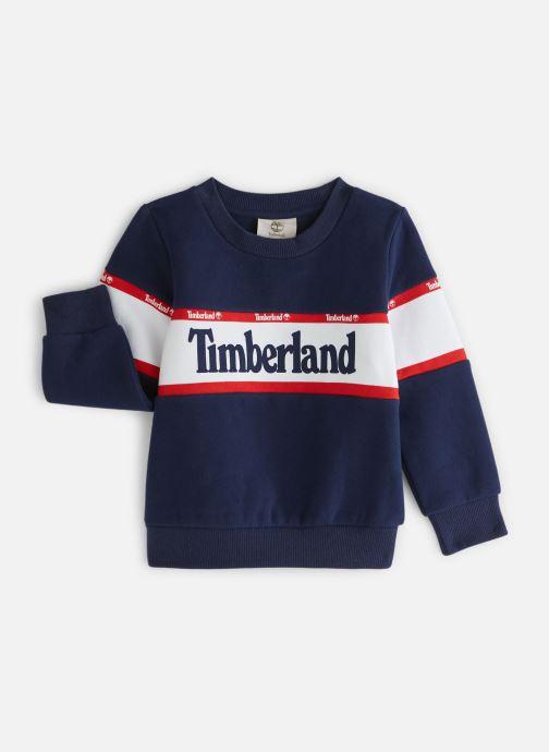 Vêtements Timberland Sweat T25Q38 Bleu vue détail/paire