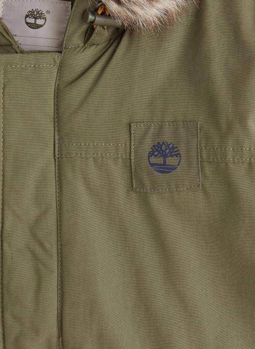 Vêtements Timberland Manteau T26492 Vert vue portées chaussures