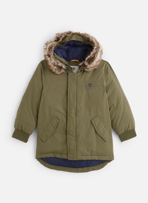 Vêtements Timberland Manteau T26492 Vert vue détail/paire
