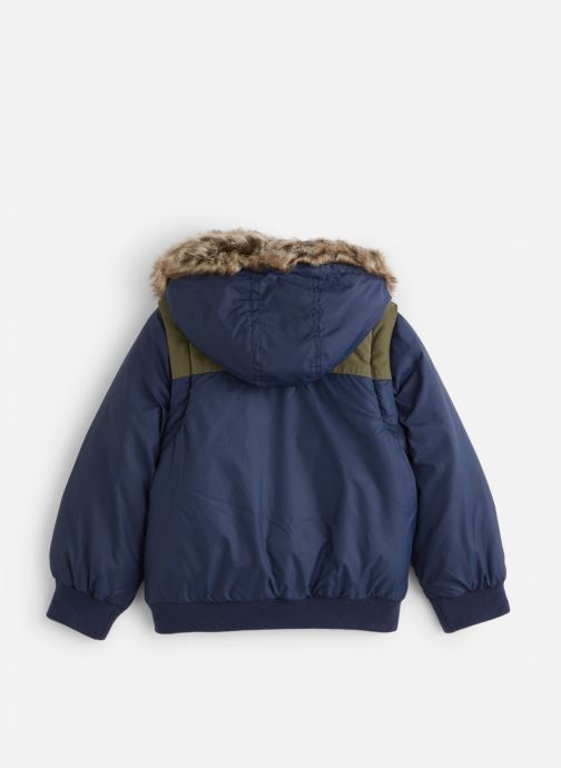 Vêtements Timberland Manteau T26498 Bleu vue bas / vue portée sac