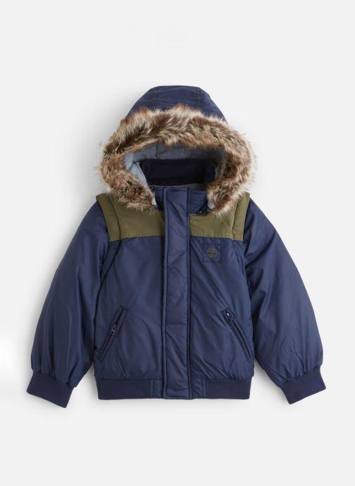 Vêtements Timberland Manteau T26498 Bleu vue détail/paire