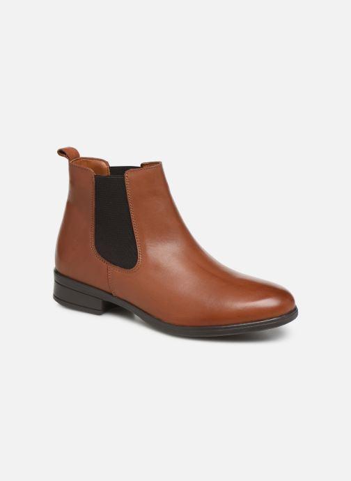Bottines et boots Aldo WICOENI Marron vue détail/paire