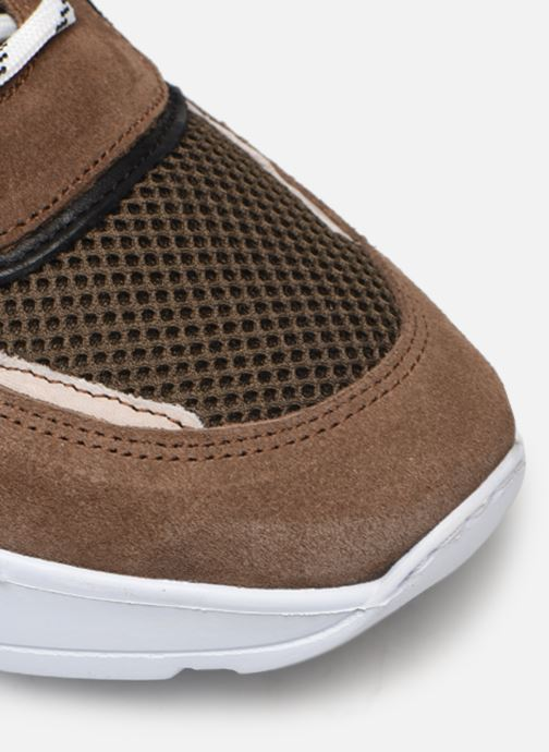 Sneakers Mr SARENZA Nobela Verde immagine sinistra