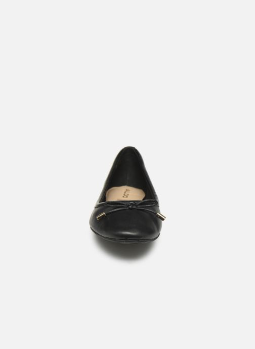 Ballerines Aldo UNELAMMA Noir vue portées chaussures