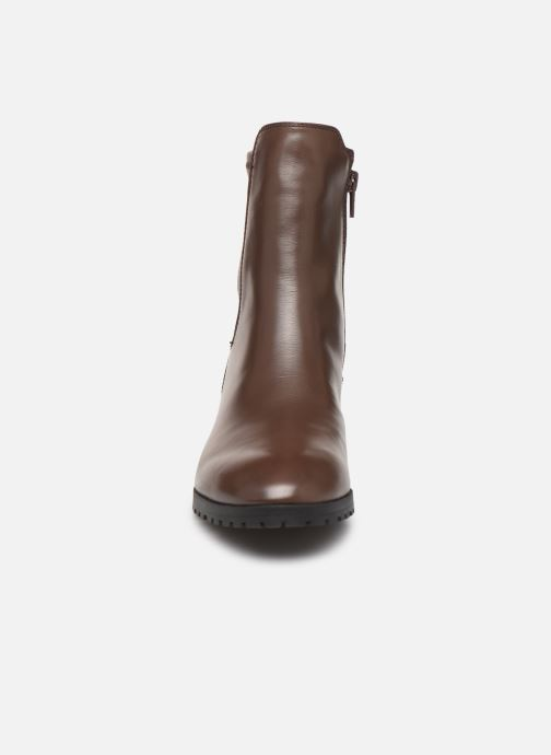 Bottines et boots Aldo MALINIA Marron vue portées chaussures