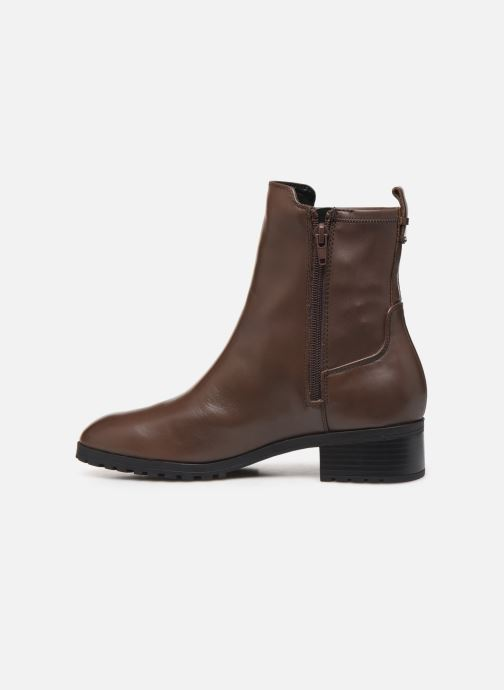 Bottines et boots Aldo MALINIA Marron vue face