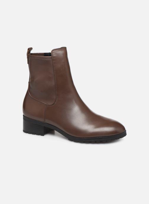 Bottines et boots Aldo MALINIA Marron vue détail/paire