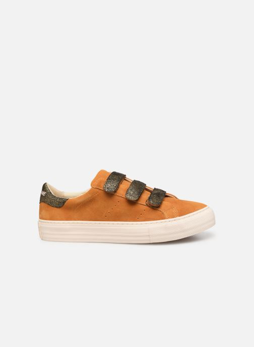 Sneakers No Name Arcade Straps Goat Suede/Hit Gul se bagfra