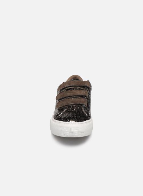 Baskets No Name Arcade Straps Java/Goat Suede Argent vue portées chaussures