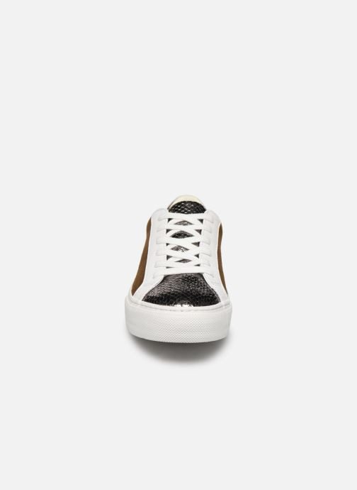 Baskets No Name Arcade Sneaker Java/Goat Suede Marron vue portées chaussures