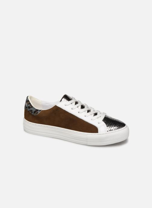 Baskets No Name Arcade Sneaker Java/Goat Suede Marron vue détail/paire
