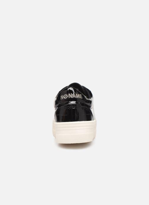 Baskets No Name Plato Sneaker Print Croco Noir vue droite